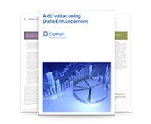 Add value using data enhancement