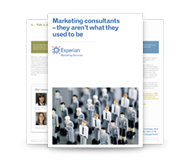 Marketing consultants - they aren't what they used to be