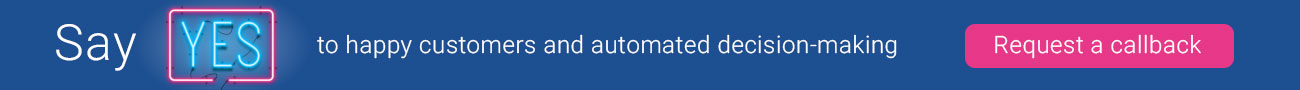 Experian One - say yes to automated decisioning